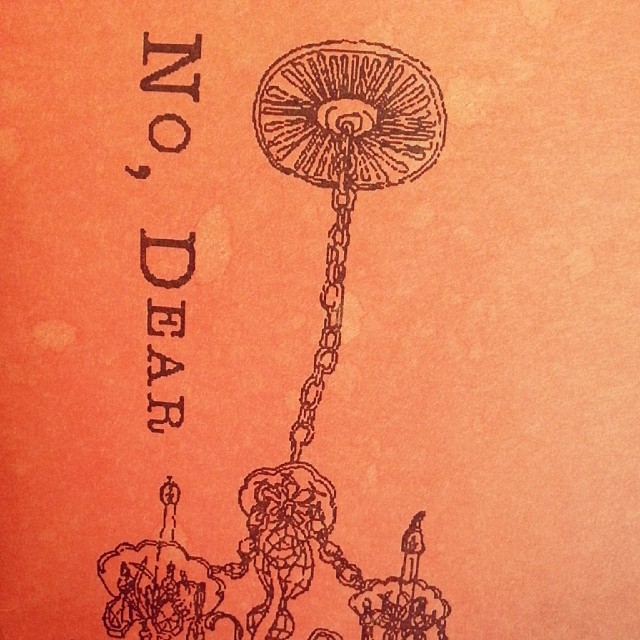 No Dear Issue 13 Cover