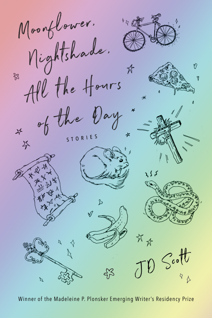 Moonflower, Nightshade, All the Hours of the Day Book Cover
